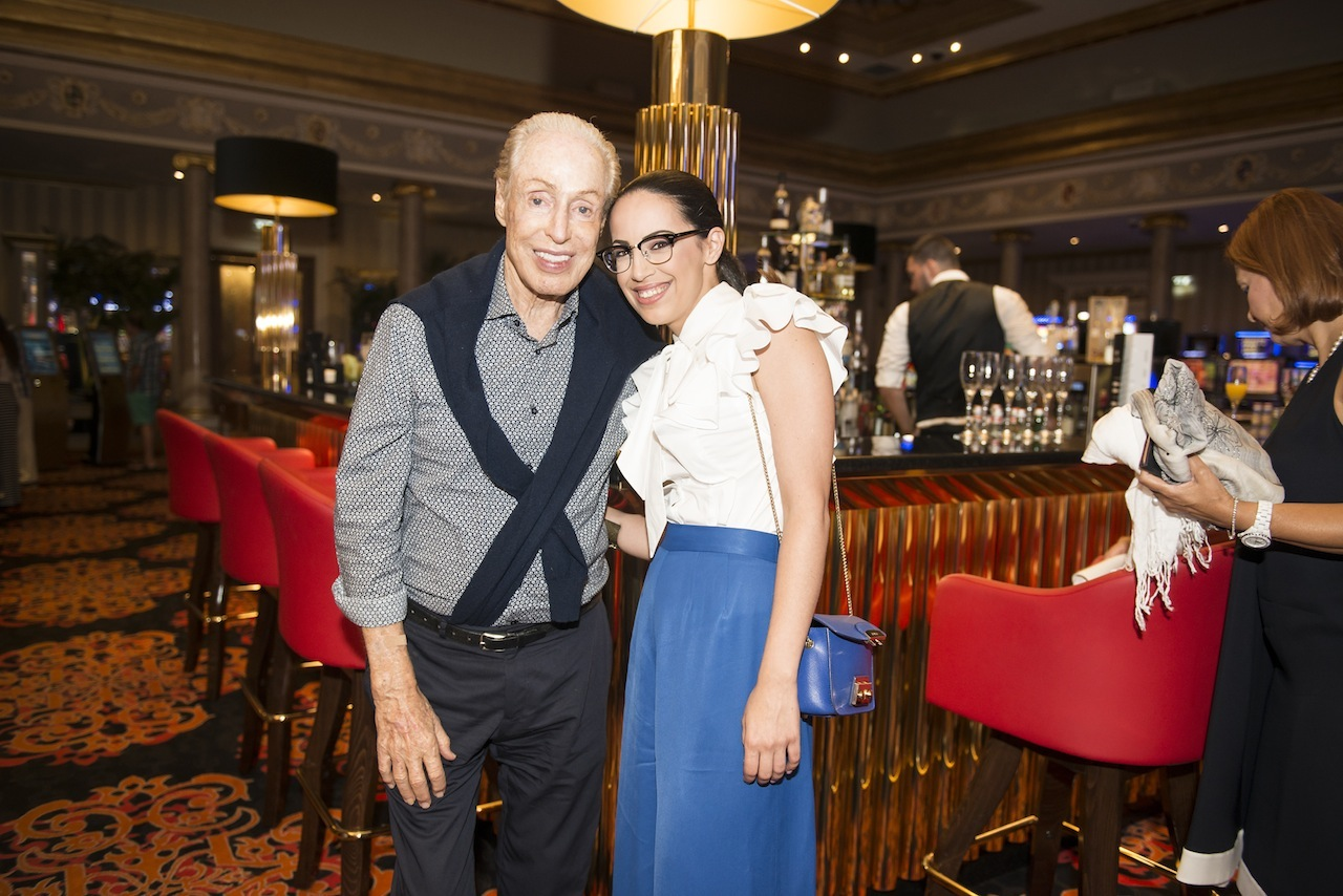 Meeting legendary designer Renato Balestra