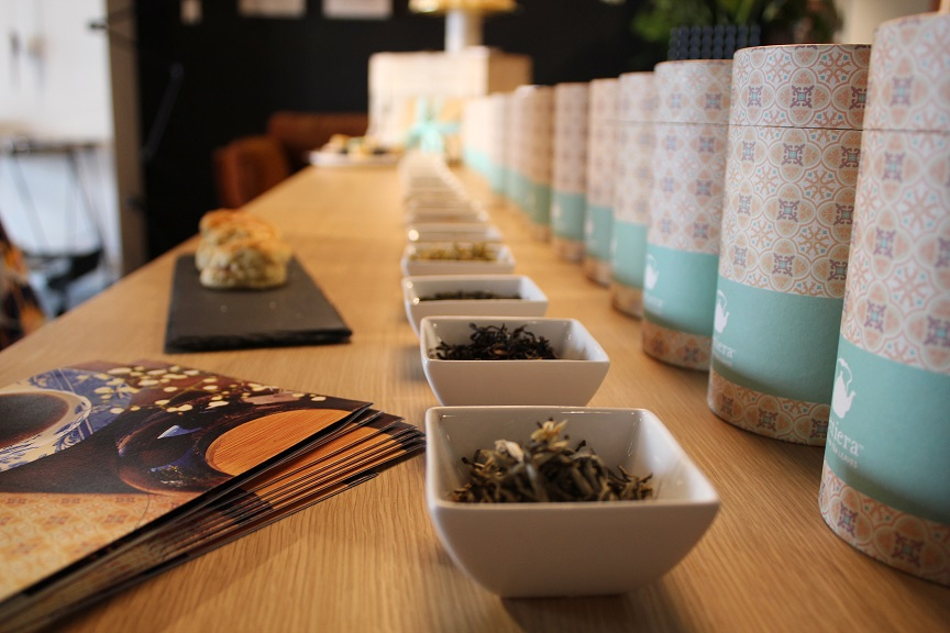 Tettiera: tea tasting at ECLECTICIST for Mother's Day