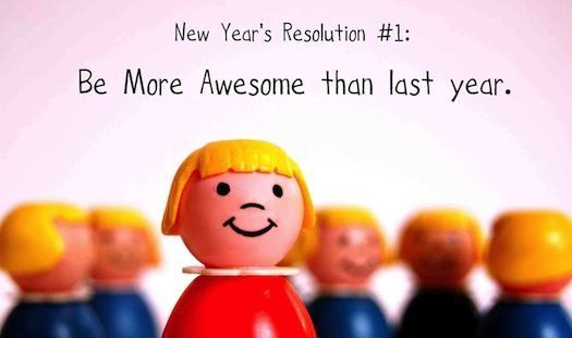 Of New Year resolutions. Which are never maintained.