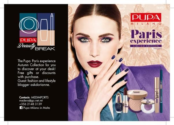 How would you like PUPA's Paris Experience at your offices this Autumn?!!