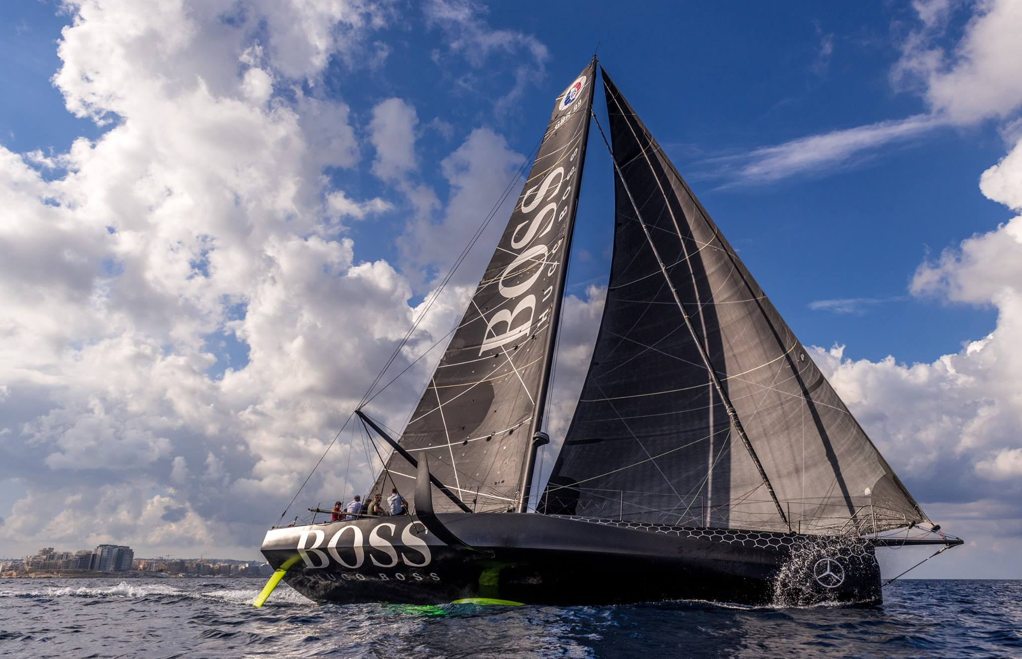 HUGO BOSS celebrates the Rolex Middlesea Race in Malta