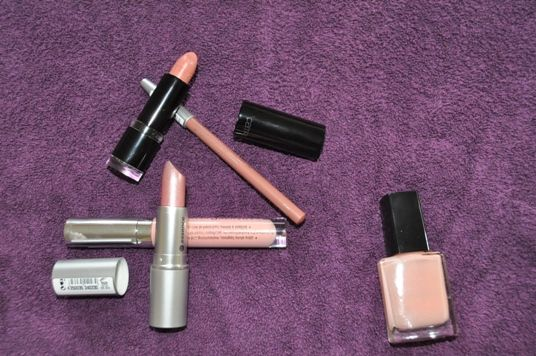 The day I fell in love with nude...makeup products