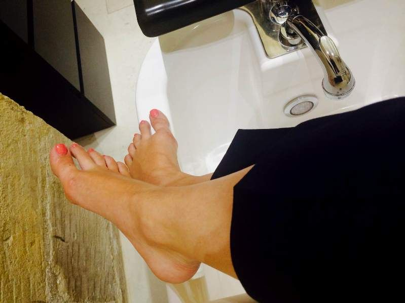 A pedi to remember!