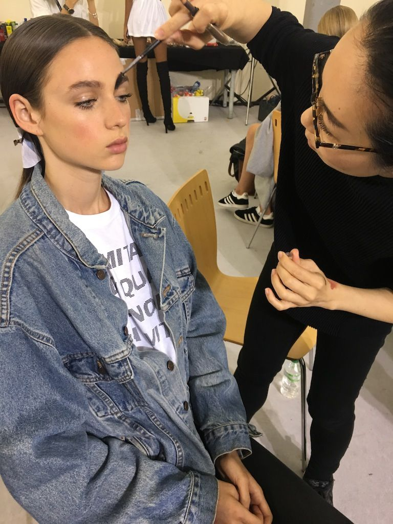 Backstage with MAC for Milan Fashion Week!